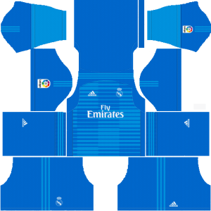 Dream League Soccer Real Madrid goalkeeper away kit 2018 - 2019