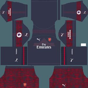 dls arsenal kits away dream league soccer