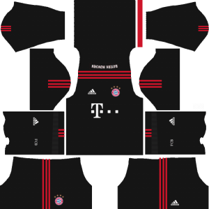 dream league soccer bayern munich gk home kits