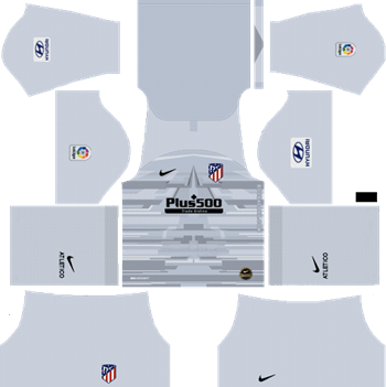 Atlético-Madrid-Goalkeeper-Home-Kit-2019-2020-DLS-19-Kits-Dream-League-Soccer