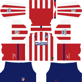 Atletico-Madrid-Home-Kits-2019-20-DLS-19-Kits-Dream-League-Soccer