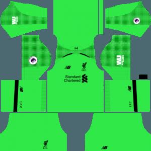 Dream League Soccer Liverpool Kits & Logo 2019 with URLs