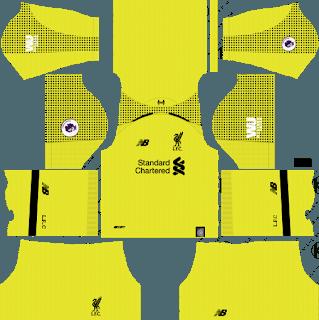 dream league soccer liverpool kits gk home
