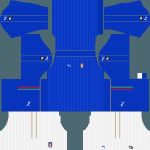 Dream League Soccer Italy home kit 2018 - 2019