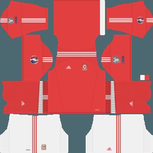 Dream League Soccer Poland home kit 2018 - 2019