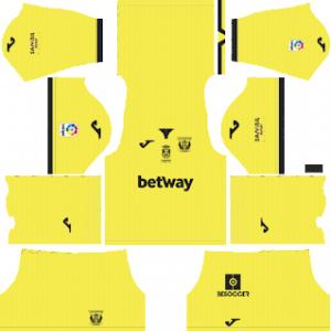 Dream League Soccer CD Leganes goalkeeper away kit 2018 - 2019-2020