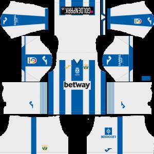 Dream League Soccer CD Leganes home kit 2018 - 2019-2020