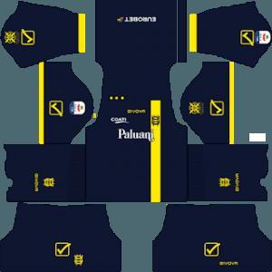 -Dream League Soccer Chievo Verona third kit 2019-2020