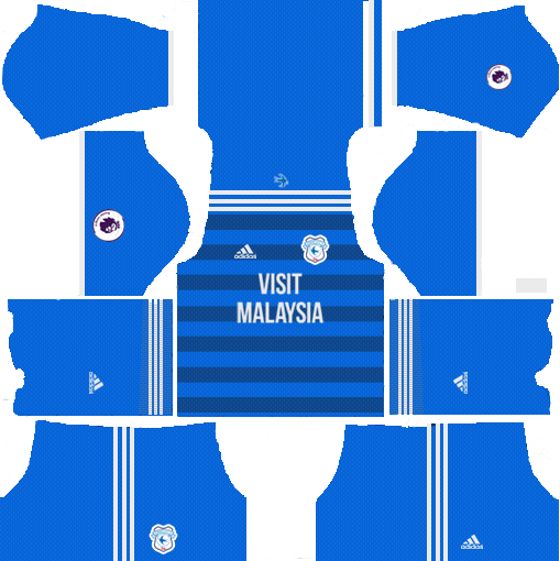 DLS Cardiff City Home Kit 2019-2020