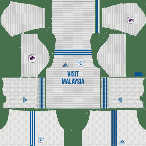 DLS Cardiff City Kit Away 2019-2020