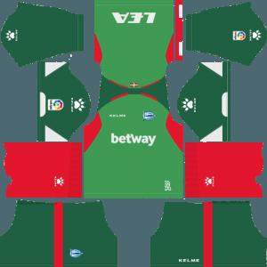 Dream League Soccer Deportivo Alaves away kit 2018 - 2019-2020