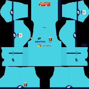 Dream League Soccer Genoa goalkeeper home kit 2018 - 2019
