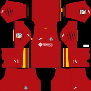 Dream League Soccer Getafe away kit 2018 - 2019