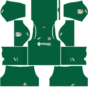 Dream League Soccer Getafe goalkeeper away kit 2018 - 2019