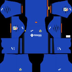 Dream League Soccer Getafe home kit 2018 - 2019