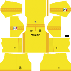Dream League Soccer Girona away kit 2018-2019
