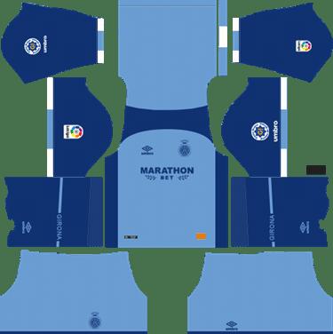Dream-League-Soccer-Girona-goalkeeper-home-kit-2019-2020