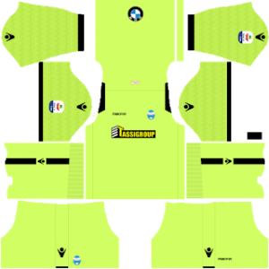 Dream League Soccer SPAL goalkeeper away kit 2018-2019