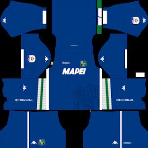 Dream League Soccer Sassuolo goalkeeper away kit 2018-2019
