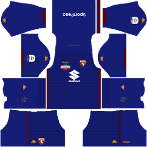 Dream League Soccer Torino goalkeeper away kit 2018 - 2019