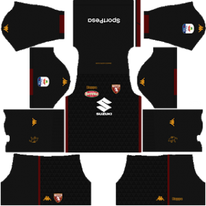 Dream League Soccer Torino goalkeeper home kit 2018 - 2019
