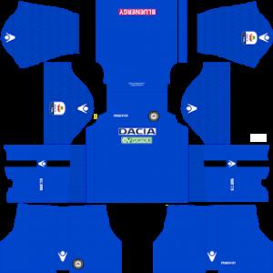 Dream League Soccer Udinese goalkeeper away kit 2018 - 2019
