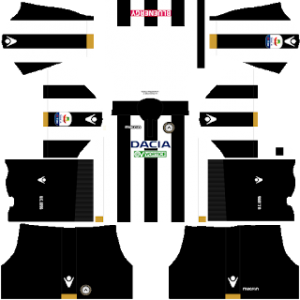 Dream League Soccer Udinese Kits and Logos 2018, 2019 - [512X512]