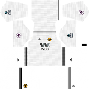 Dream League Soccer Wolverhampton away kit 2018 - 2019