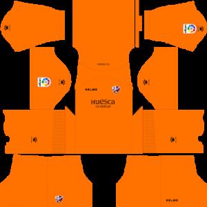 Dream League Soccer Huesca goalkeeper away kit 2018 - 2019