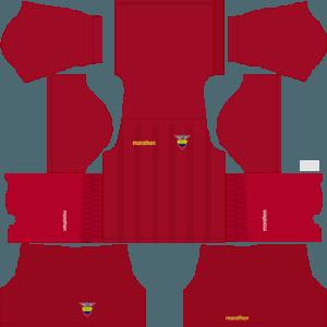 Dream League Soccer Ecuador goalkeeper away kit 2018 - 2019-2020