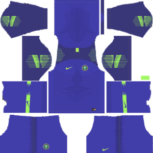 Dream League Soccer Nigeria goalkeeper home kit 2018 - 2019-2020