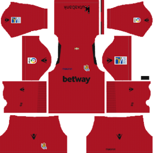 Dream League Soccer Real Sociedad goalkeeper away kit 2018 - 2019-2020