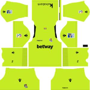 Dream League Soccer Real Sociedad goalkeeper home kit 2018 - 2019-2020