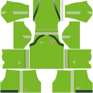 Dream League Soccer Scotland goalkeeper home kit 2018 - 2019-2020