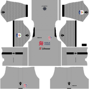 Dream League Soccer Cagliari goalkeeper away kit 2018 - 2019-2020