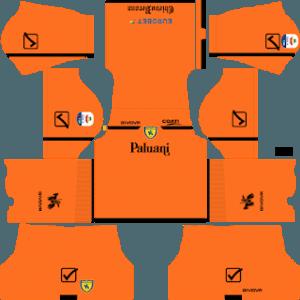 Dream League Soccer Chievo Verona goalkeeper home kit 2019-2020