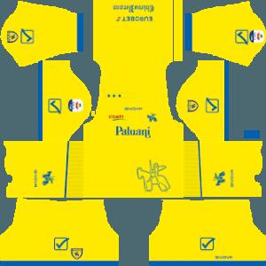Dream League Soccer Chievo Verona home kit 2019-2020