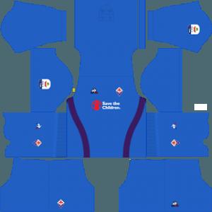 Dream League Soccer Fiorentina goalkeeper away kit 2018 - 2019