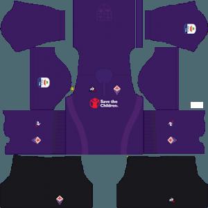 Dream League Soccer Fiorentina home kit 2018 - 2019