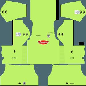 Angers SCO gk away kit