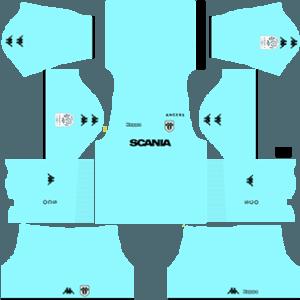Angers SCO gk home kit