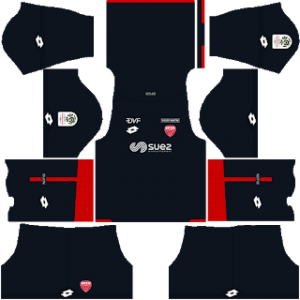 Dijon away kit