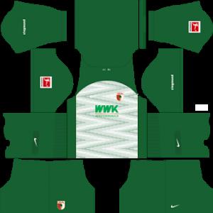 Dream League Soccer FC Augsburg away kit 2018 - 2019