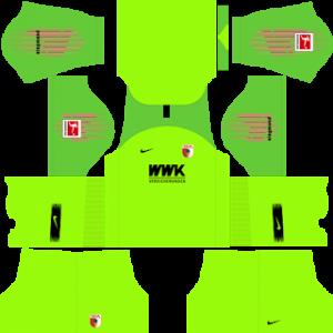 Dream League Soccer FC Augsburg goalkeeper away kit 2018 - 2019