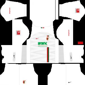 Dream League Soccer FC Augsburg home kit 2018 - 2019