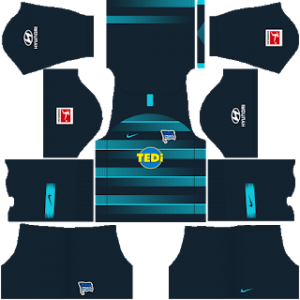 Dream League Soccer Hertha BSC away kit 2018 - 2019