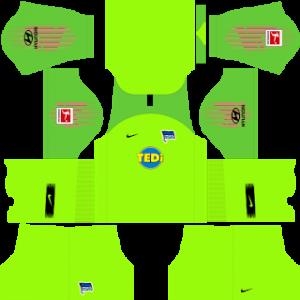 Dream League Soccer Hertha BSC goalkeeper home kit 2018 - 2019
