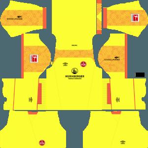 FC Nurnberg GK home kit