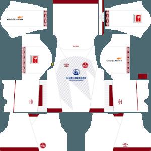 FC Nurnberg away kit