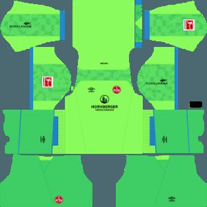 FC Nurnberg gk away kit